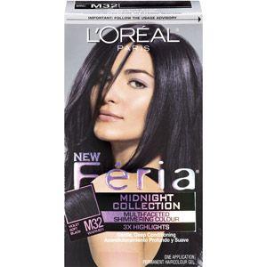 Beauty Hair Color For Black Hair Feria Hair Color Soft Black Hair