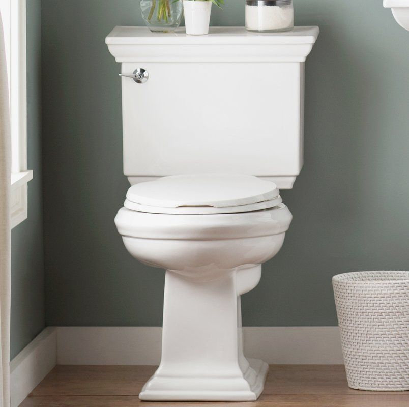 Memoirs Stately 1 28 Gpf Elongated Two Piece Toilet In 2019