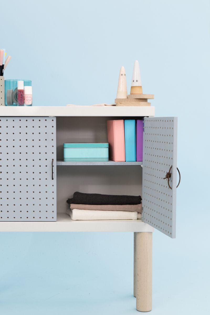 Diy Meuble Enfant Graphique Et Facile A Partir D Une Structure Ikea Par Adc Pour Le Bon Coin Diy Furniture Projects Redo Furniture Diy Furniture