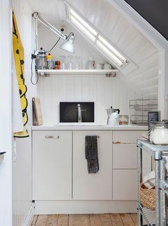 Aneks Kuchenny Pod Skosem Small Apartments Small Apartment Decorating Tiny Spaces