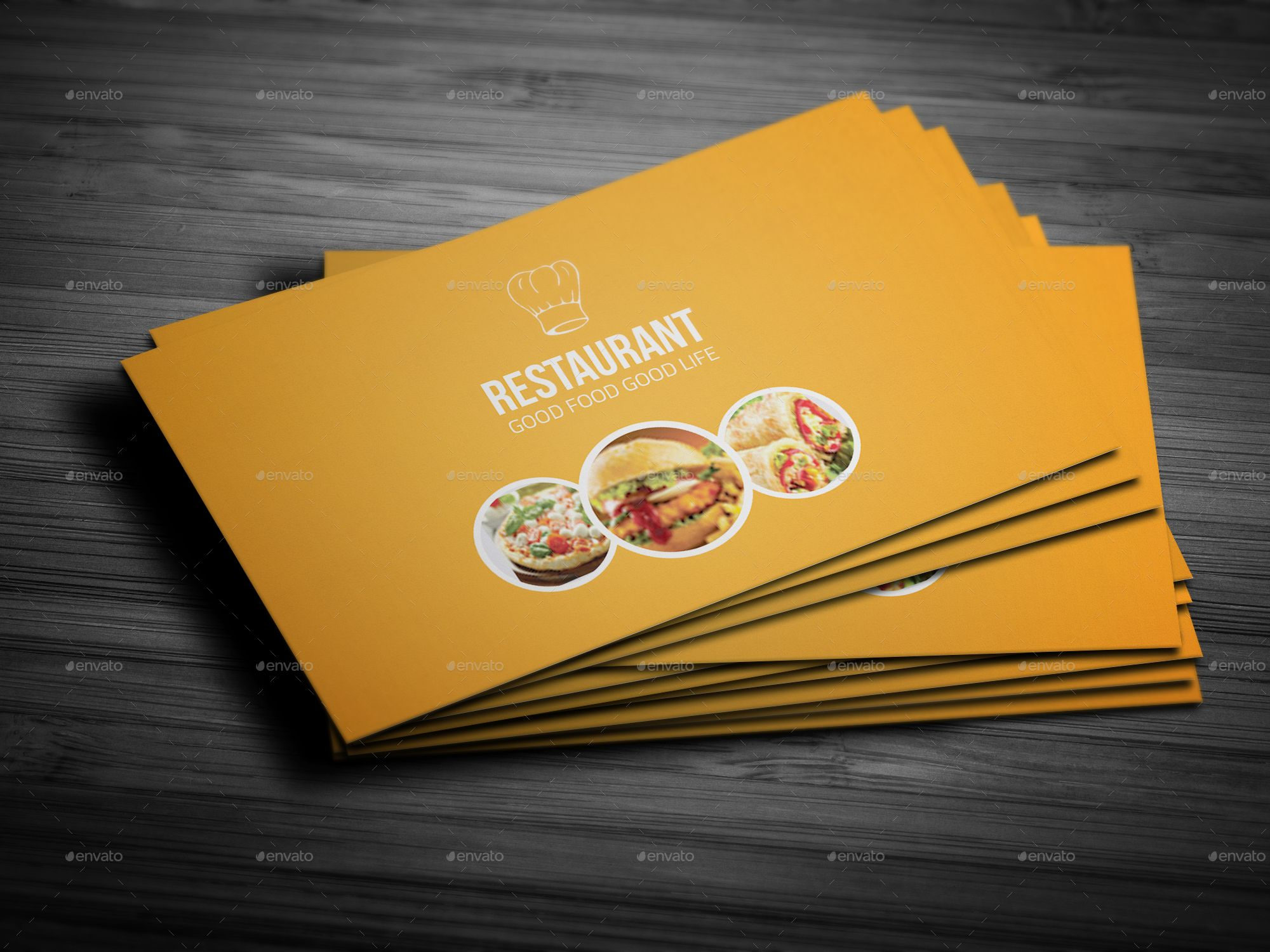Bundle Restaurant Business Card Restaurant Business Cards