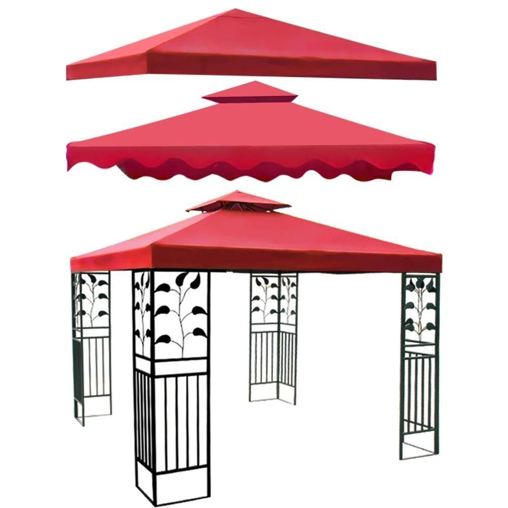 Gazebo Canopy Top Cover Replacement Outdoor Garden Patio 8x8 10x10
