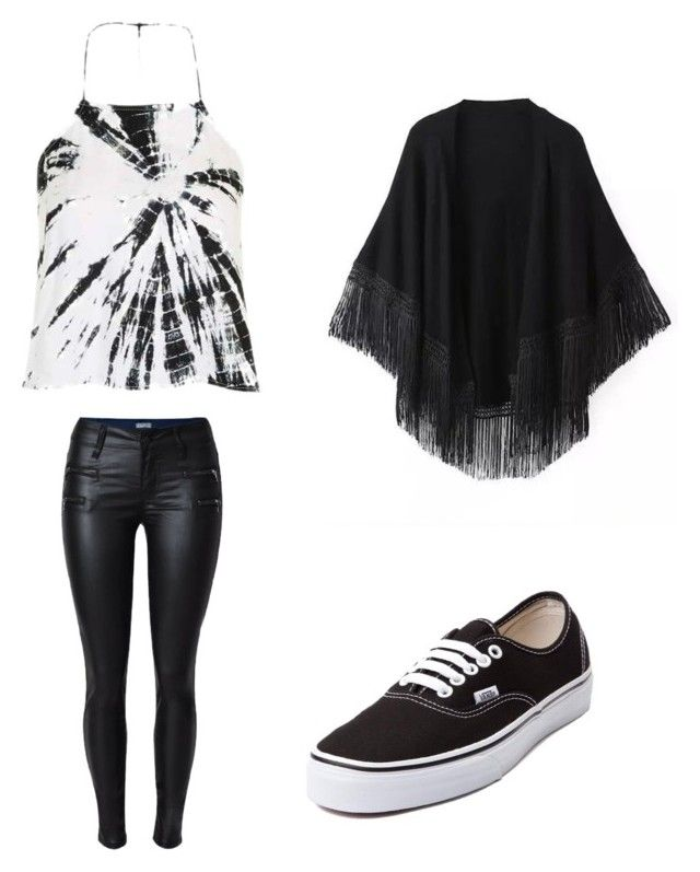"""Untitled #1"" by heaven-price ❤ liked on Polyvore featuring Topshop, Vans and Relaxfeel"