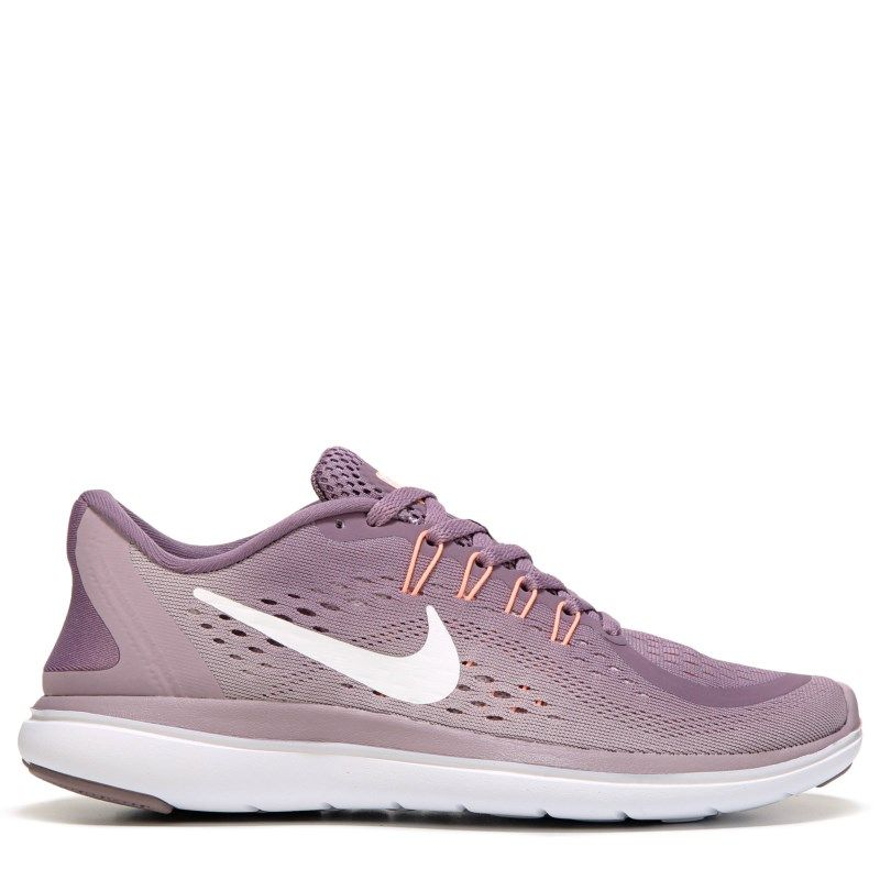 Nike Women S Flex 2017 Rn Running Shoes Violet White Lilac Sneakers Grey Tennis Shoes Beautiful Sneakers