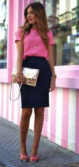 50+ Beautiful Women Work Outfits ideas for summer #womensworkoutfits