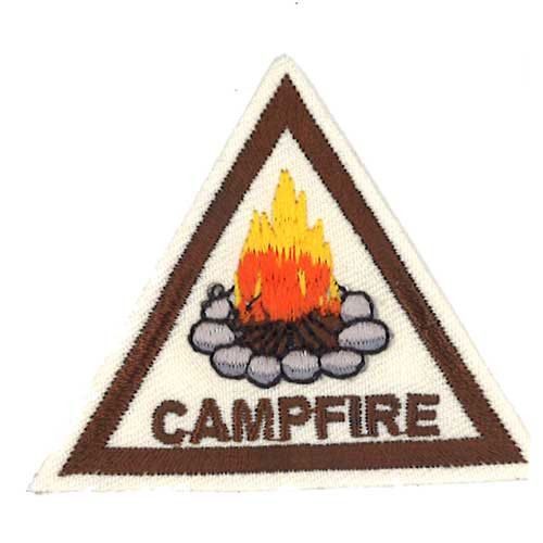 Gscb Campfire Brownie Badge Girl Scout Badges Girl Scout