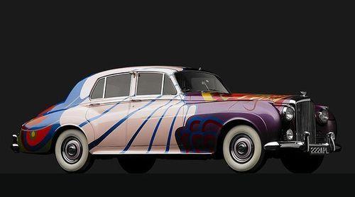 John Lennon's Bentley S1