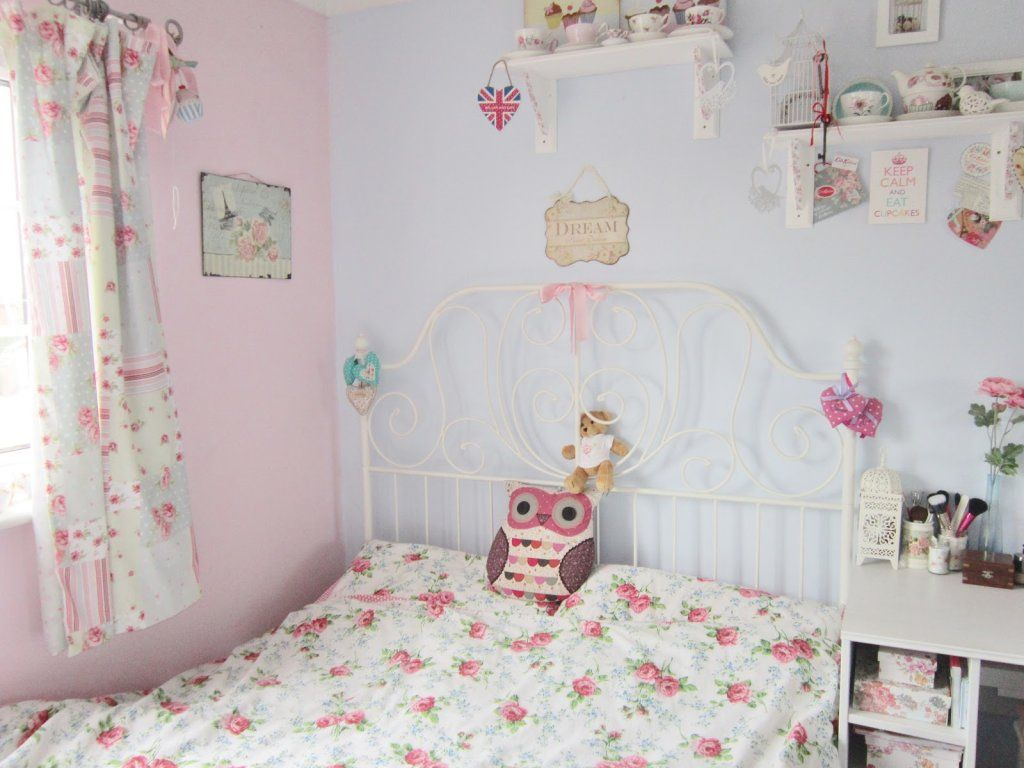 pink vintage bedroom pastel blue and pink vintage style bedroom ideas for 12891