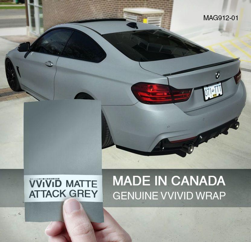 Vvivid Xpo matte white car wrap vinyl sticker
