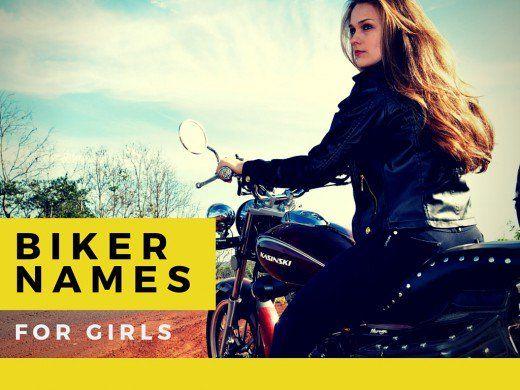 Biker girl nicknames