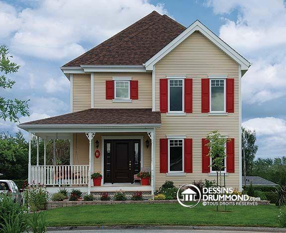 Plan de Maison unifamiliale W3700 Su0027il est un modèle de maison pour