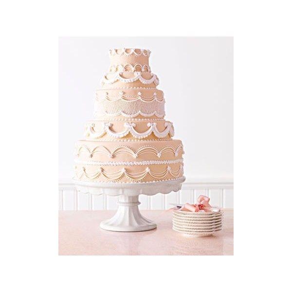 Wedding Cake 101 An Introduction To Wedding Cakes: Amazing Wedding Cakes 101 Martha Stewart Weddings Found On