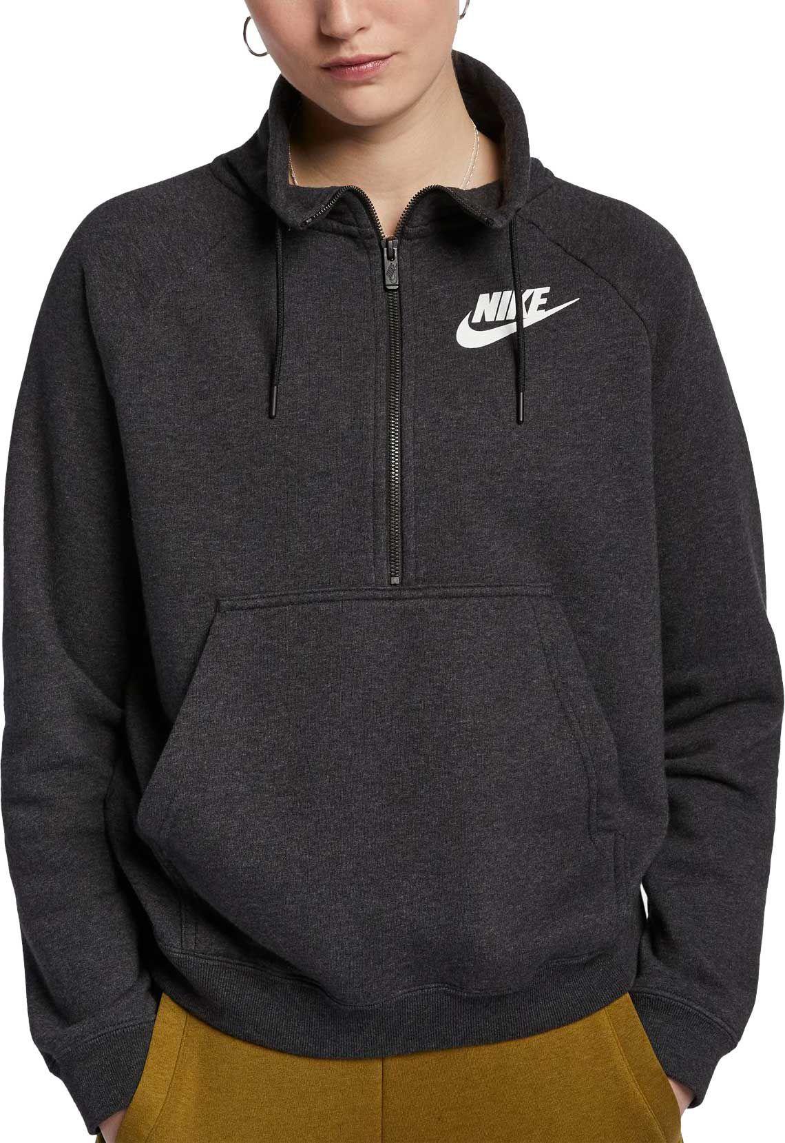 nike hoodie half zip
