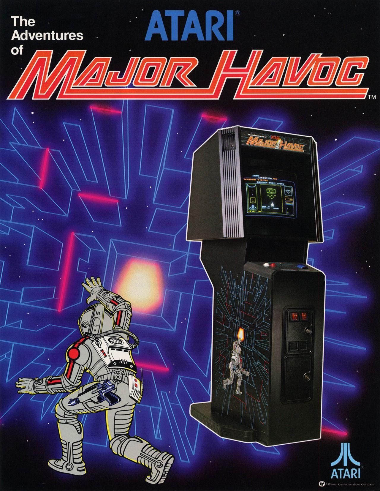 The Adventures of Major Havoc (1983) Arcade, Arcade