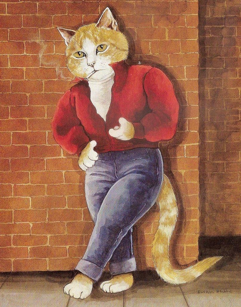 картинки кота бача