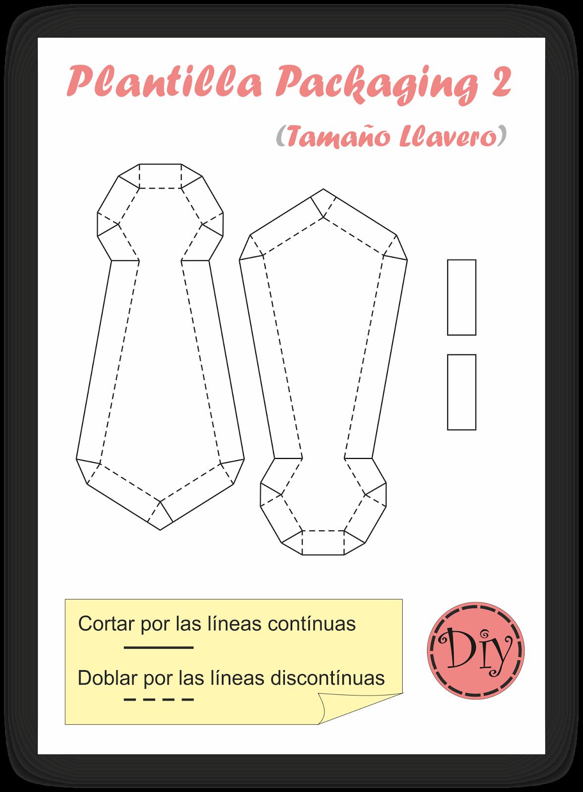Diy Cajita Regalo - Packaging 2 (corbata) | Papercraft & boxes ...