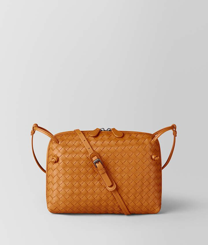 6b113ad2e802 Bottega Veneta ORANGE INTRECCIATO NAPPA NODINI BAG. ShopStyle Collective  Bago