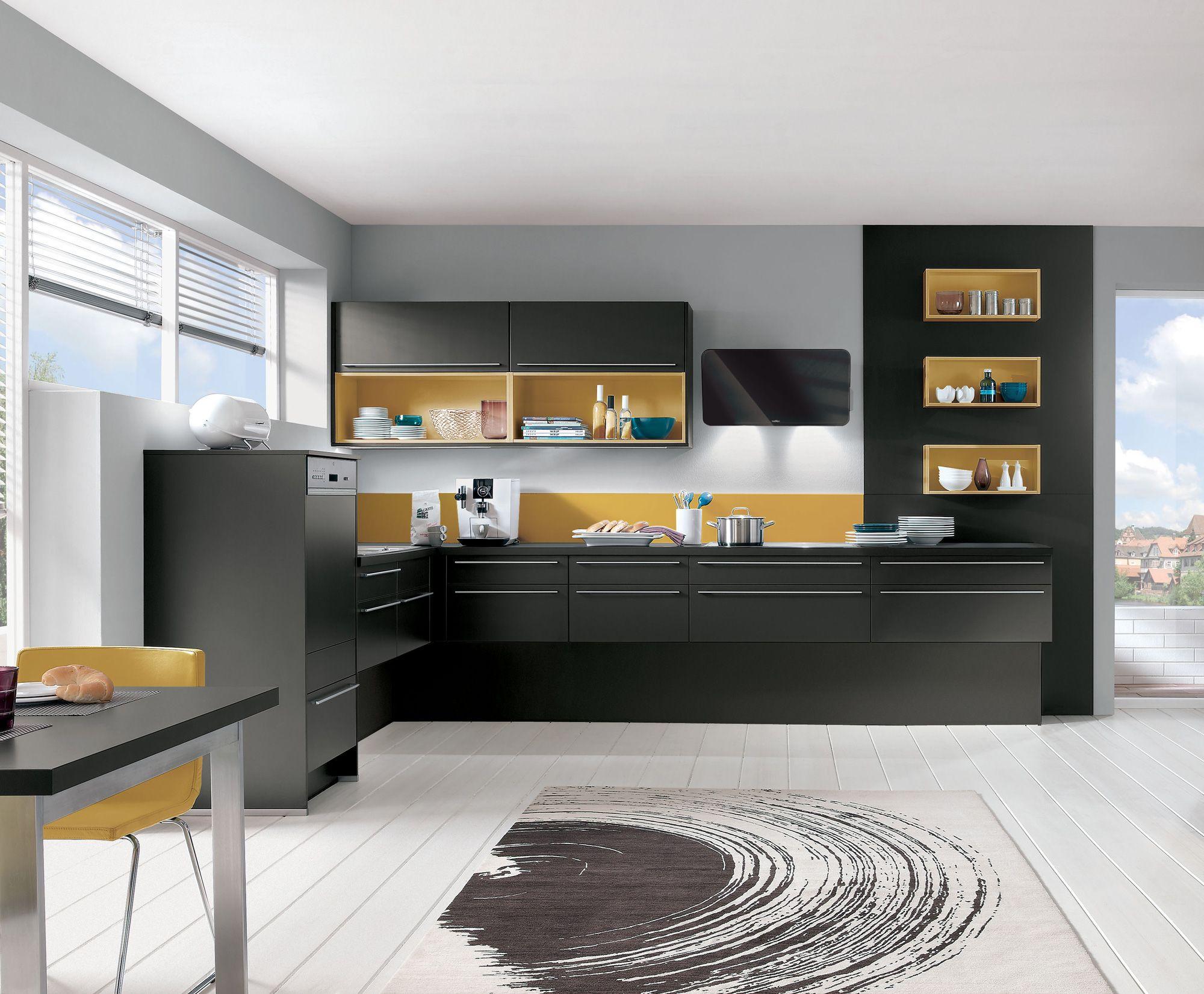 cuisine quip e aviva diana terra noir et niches curry 4 690 avec le pack beko 699 k k. Black Bedroom Furniture Sets. Home Design Ideas