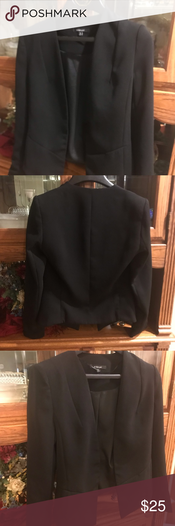 Chic Black Jacket Size Small Dressy Black Jacket Really Well Made And Bought From Higher End Boutique Wor Chic Black Dress Black Dress Jacket Jacket Dress [ 1740 x 580 Pixel ]