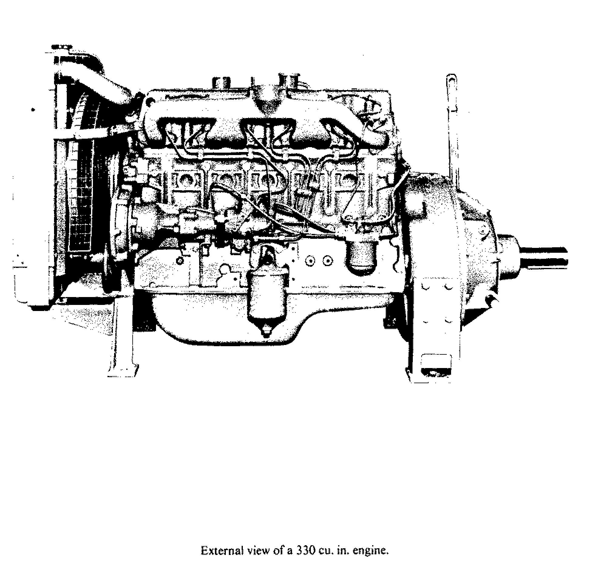 The Bedford 330sel Engine Is Was A Common Engine Used