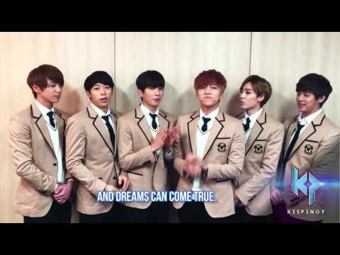 Want to be a K-Pop Icon?  U-KISS invites you to join #KISPinoy now. Here's how: https://www.facebook.com/notes/kis-pinoy-edition/how-to-join-kispinoy/1628742284005895 KISPinoy airs weekly on TV5 starting June 27. Primetime. Shine on stage. Fighting!
