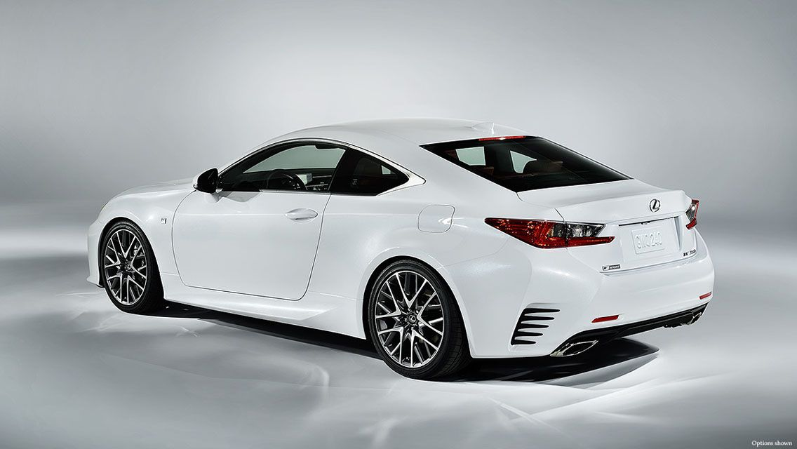 White 2015 Lexus RC 350 F Sport Exterior Wallpaper White