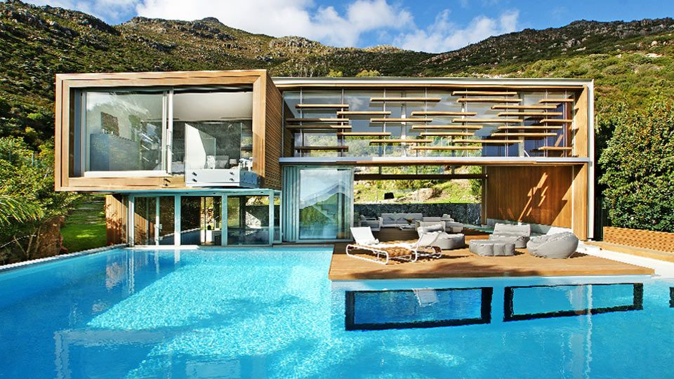 Villa Heuwel   Cape Town Elegant And Ultramodern Villa, 3 Ensuite Bedrooms,  Close To Cape Town, Heated Indoor Jacuzzi, Infinity Edge Swimming Pool, ...