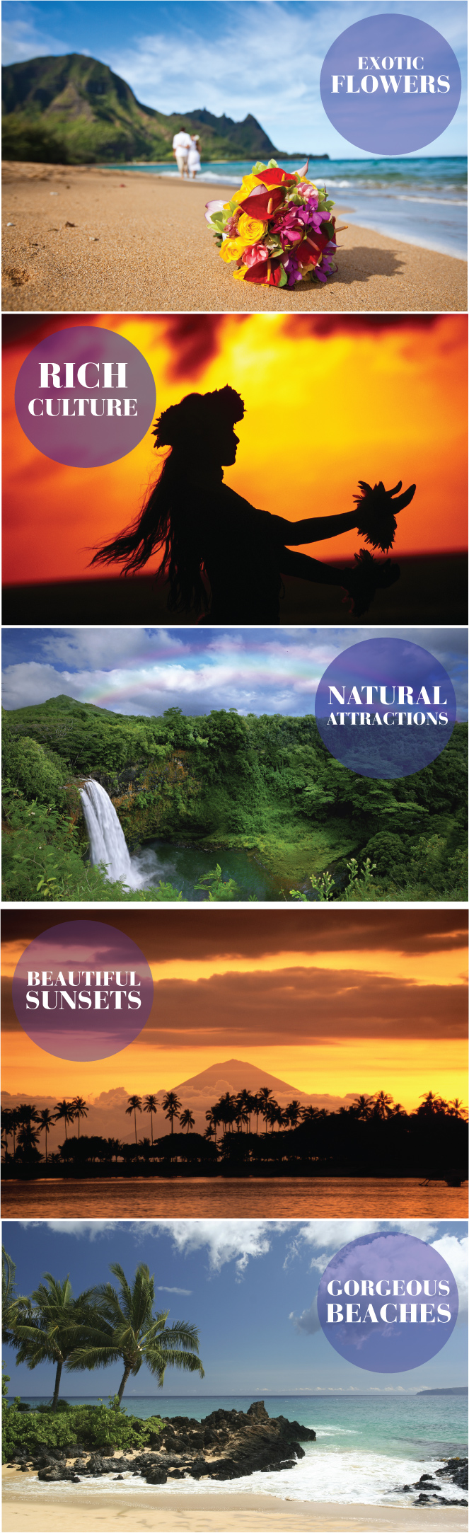 5 Reasons to have a destination #wedding or #honeymoon in HAWAII
