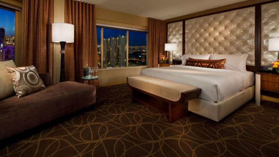 Hotel And Resort MGM Grand Hotel Two Bedroom Suites Las Vegas With Wall  Tufted Panel And