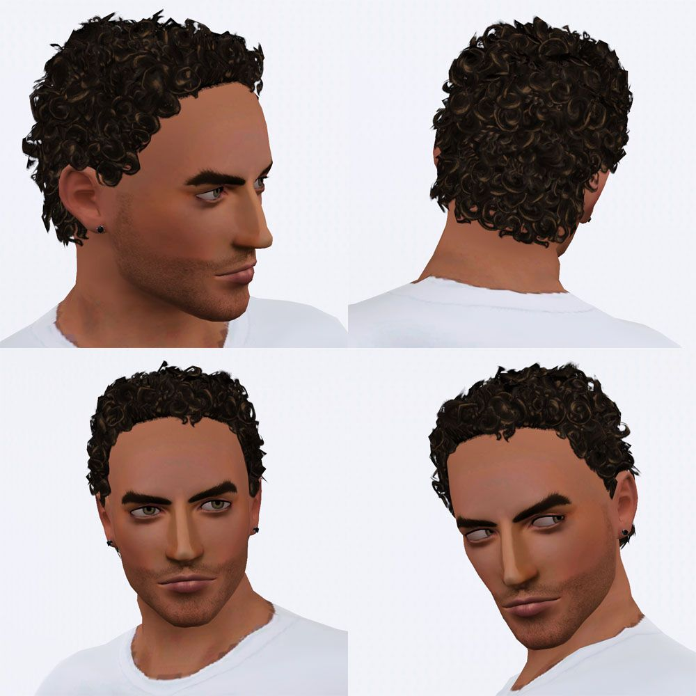Pin By Sally On Sims 2 Sims 3 Curly Hair Styles Short Curly Hair Short Hair Styles