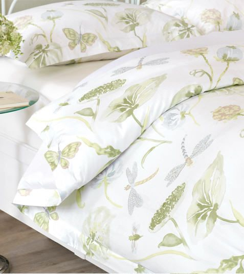 Dragonfly & Butterfly Floral Duvet Covers & Bedding - De Medici ... : dragonfly quilt cover - Adamdwight.com