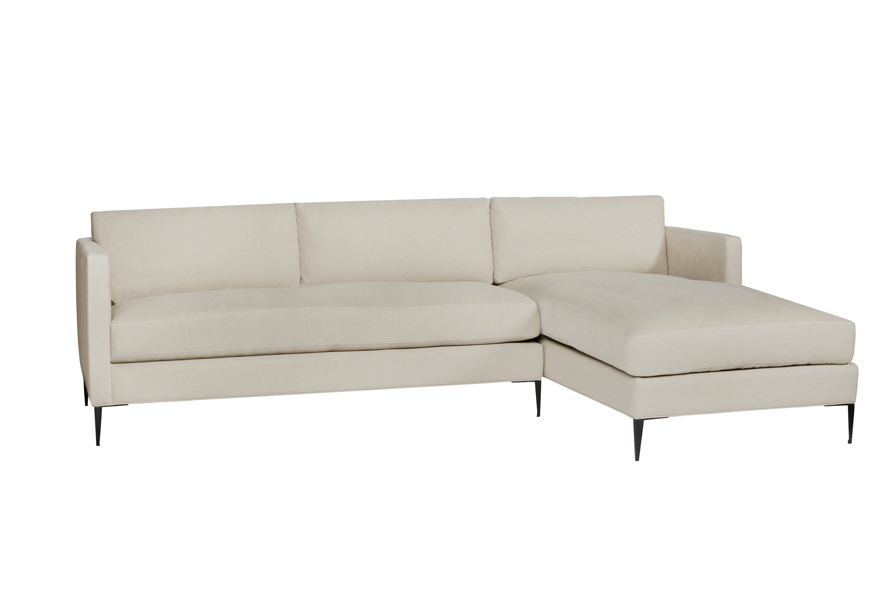 Benedict 2pc Sectional Sectional Comfortable Sofa College