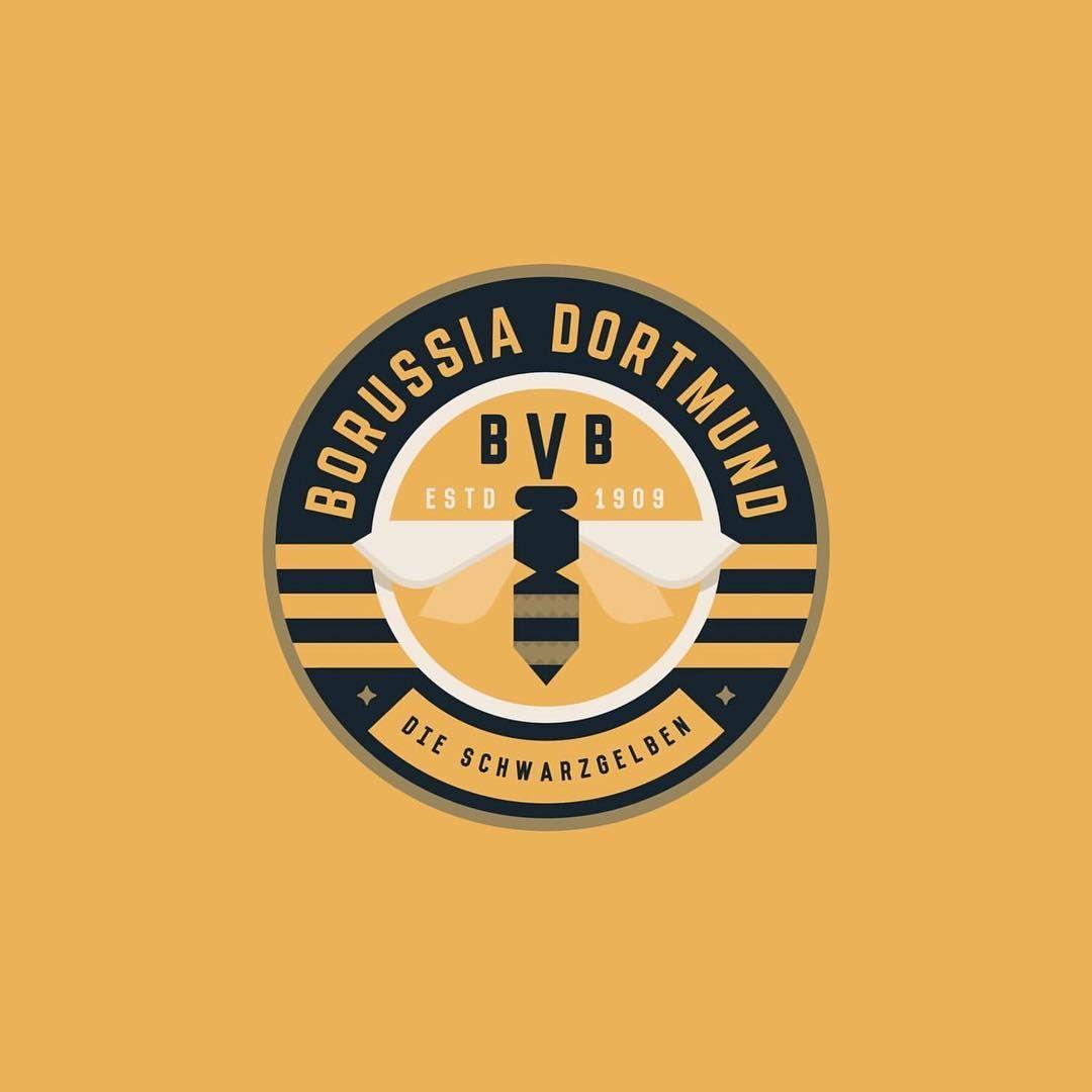 Follow Us Logoinspirations Borussia Dortmund By Treyingram03 Logo Course Logocore Com Lessons Negati Logo Inspiration Startup Logo Negative Space Logos
