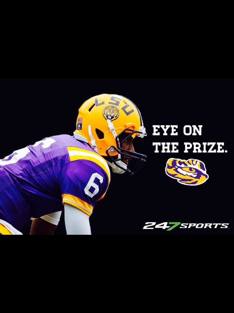 GEAUX TIGERS! Eye on the prize iphone wallpaper cell phone