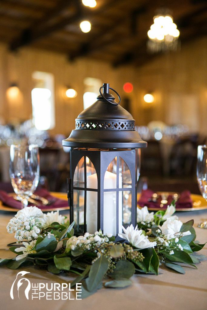 Lantern Wedding Table Centerpiece Natural Wedding Decor Organic