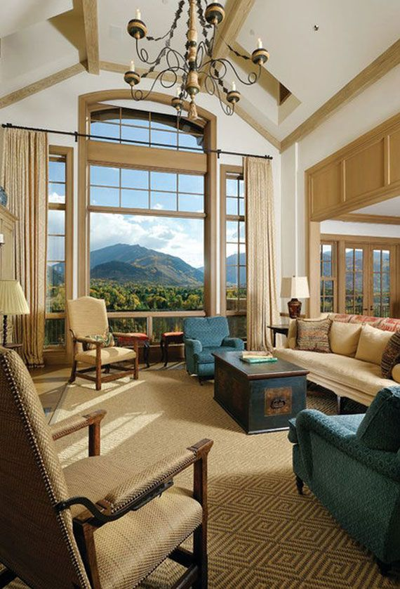High Ceiling Rooms And Decorating Ideas For Them  Ceilings Room Alluring High Ceiling Living Room Designs Design Inspiration