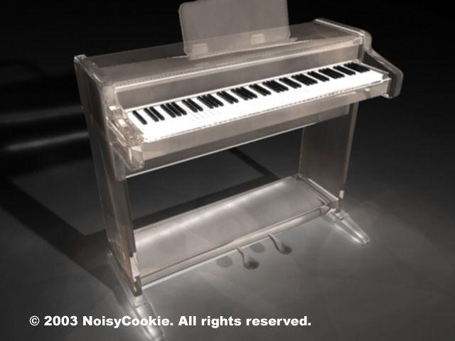 15++ Glass piano info