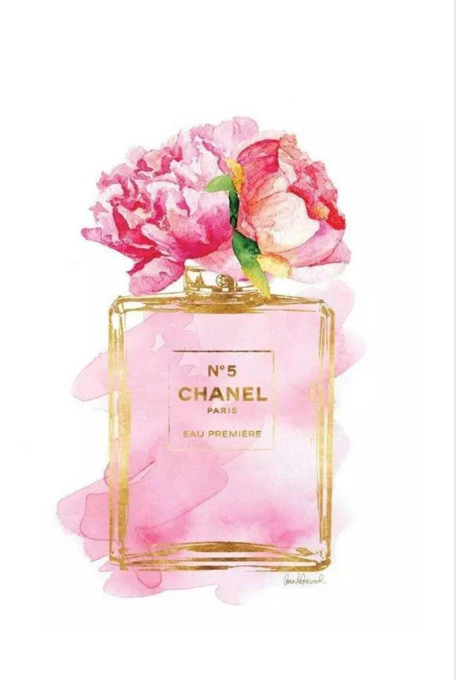 N 5 Channel Chanel アート 香水 イラスト アートポスター