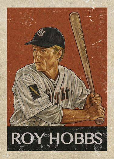 "Cuyler Smith ""26 - Roy Hobbs"" Trading Card"