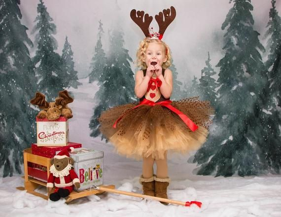 2021 Christmas Pageant Pictures Reindeer Tutu Dress Rudolph The Red Nose Reindeer Christmas Pageant Dress Reindeer Costume In 2021 Reindeer Costume Christmas Pageant Dress Christmas Costumes
