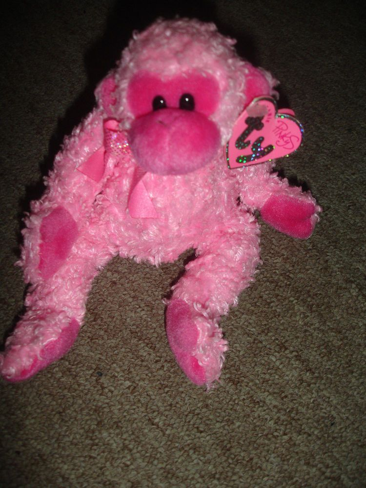 bceda2c08ad Details about RARE! TY Beanie Babies SPINNER the Spider- MWMTs ...