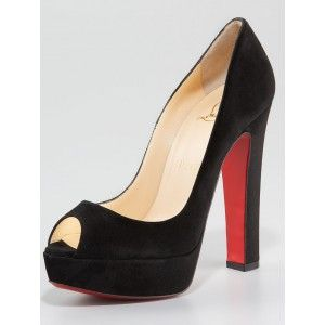 purchase cheap 8df1f fe1fa Christian Louboutin Bamboo Peep-Toe Thick-Heels Platform ...