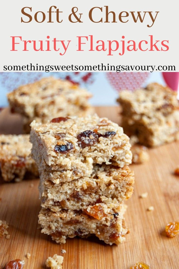 47 Recipe Tasty Fruity Flapjacks: Buttery Flapjacks With Golden Syrup And Studded With Juicy