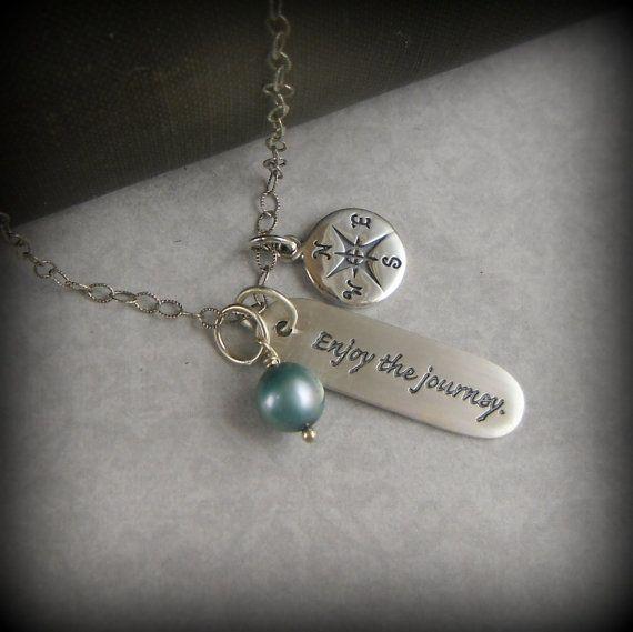 graduation quote jewelry inspirational jewelry travel