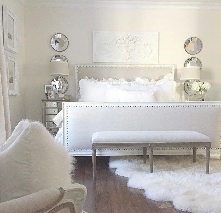 Small Master Bedroom Ideas And Inspirations: Pinterest: @globalairy