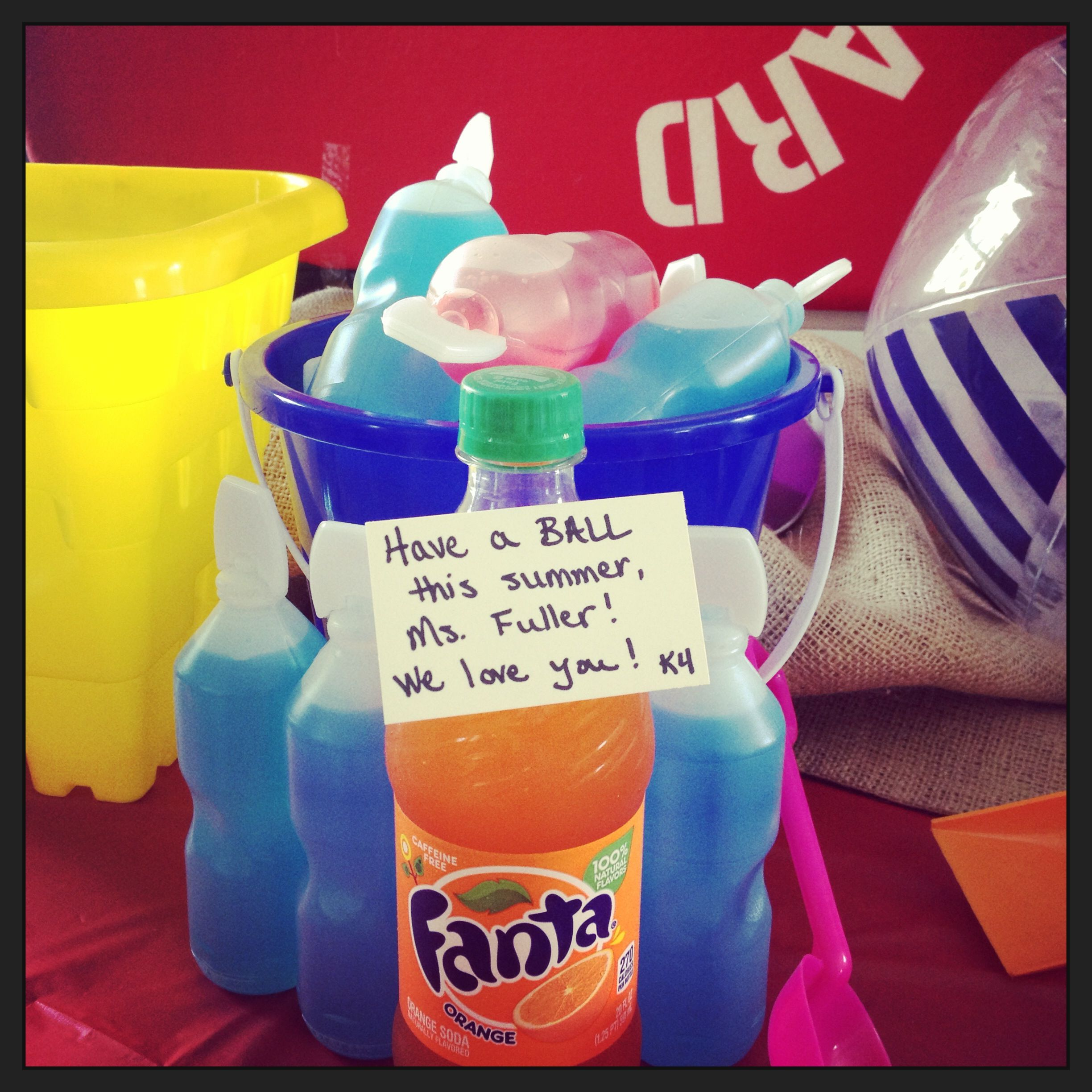 """Preschool end-of-the-year party... """"Have a Ball This Summer!"""""""