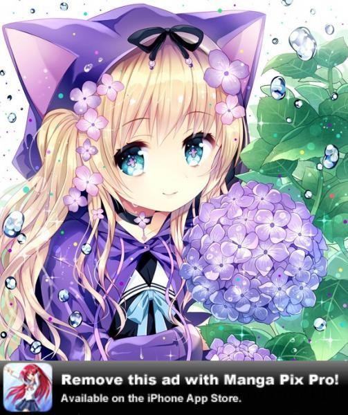 Voici pour vous une petite fille manga d guiser en chat - Fille manga chat ...