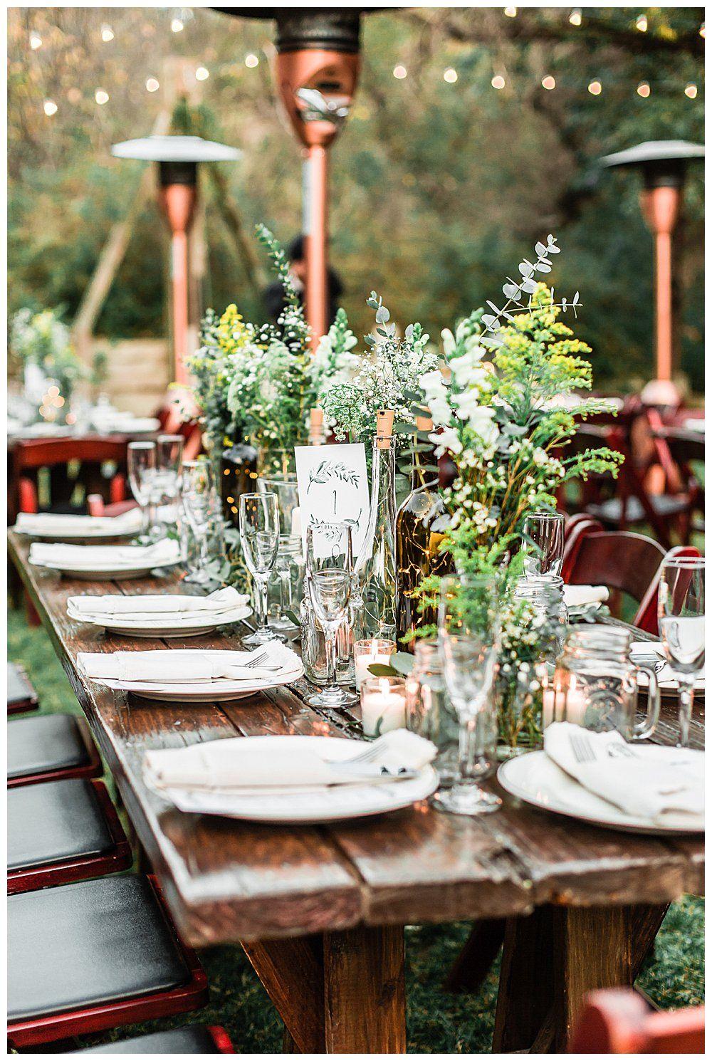 A Romantic Wedding In Topanga Canyon Beautiful Wedding Table