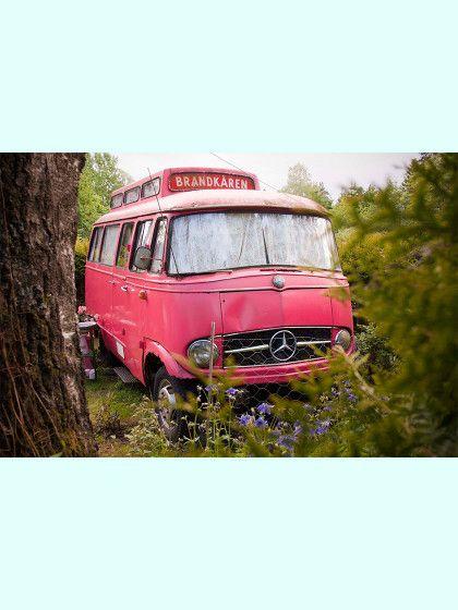Feuerwehrauto Pink