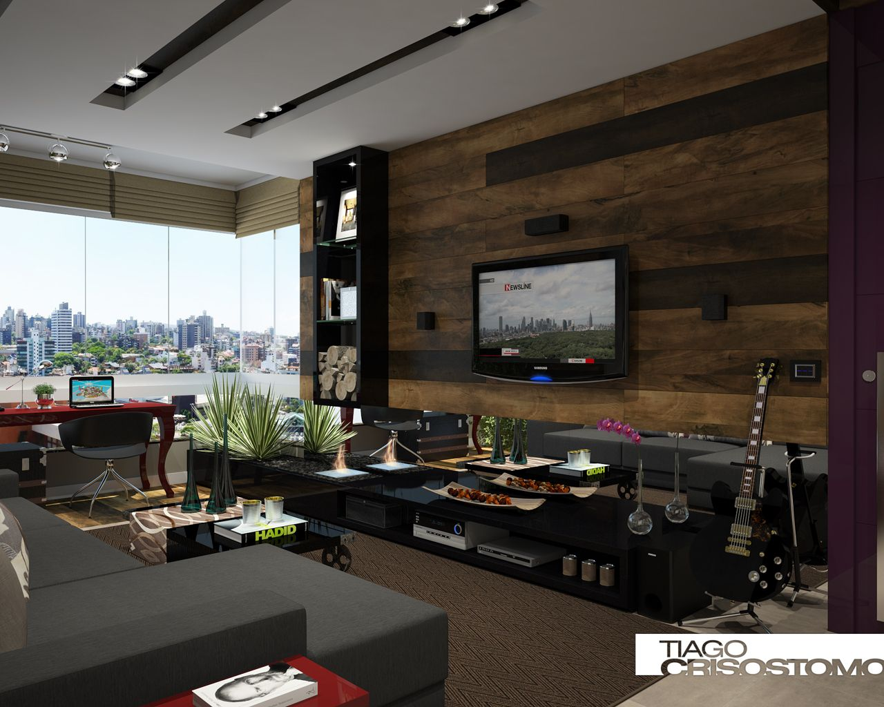 Good Tiago Crisostomo   Design: Home Theater